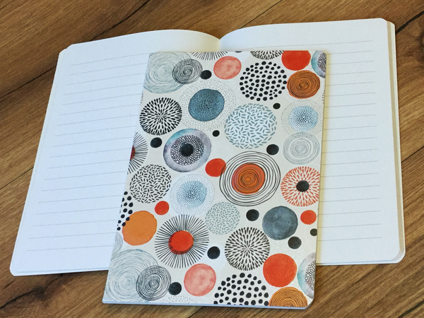 Notizheft A5 Remember Circles - Polly Paper