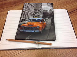 Hardcover A5 liniert Taxi - Polly Paper