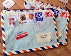 Zipper Pouch Airmail - Polly Paper