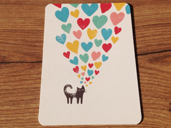 Postkarte Lovecat (Gutrath) - Polly Paper