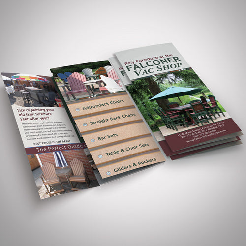 Trifold Brochures - Tint Press