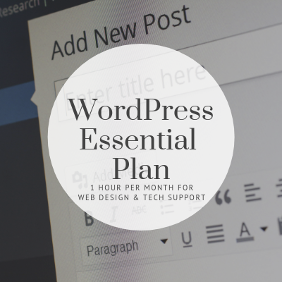 WordPress Essential Plan - Tint Press