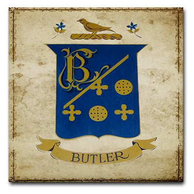 Butler Crest Tile - Tint Press