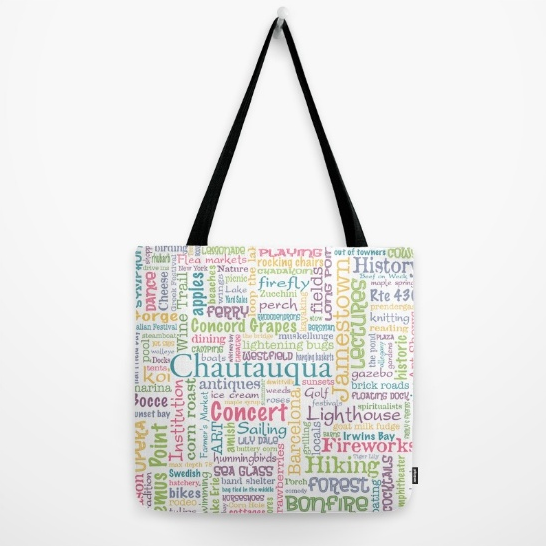 Chautauqua Dream Tote Bag - Tint Press