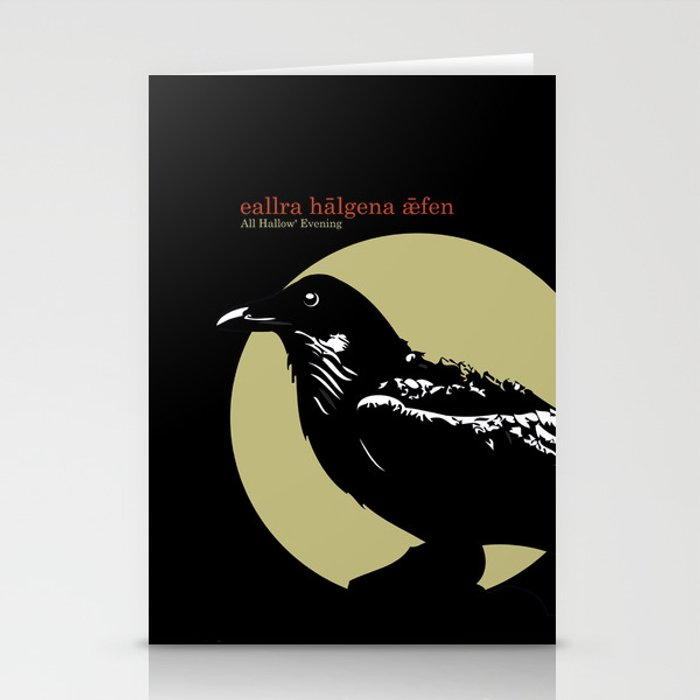 The Raven Stationery