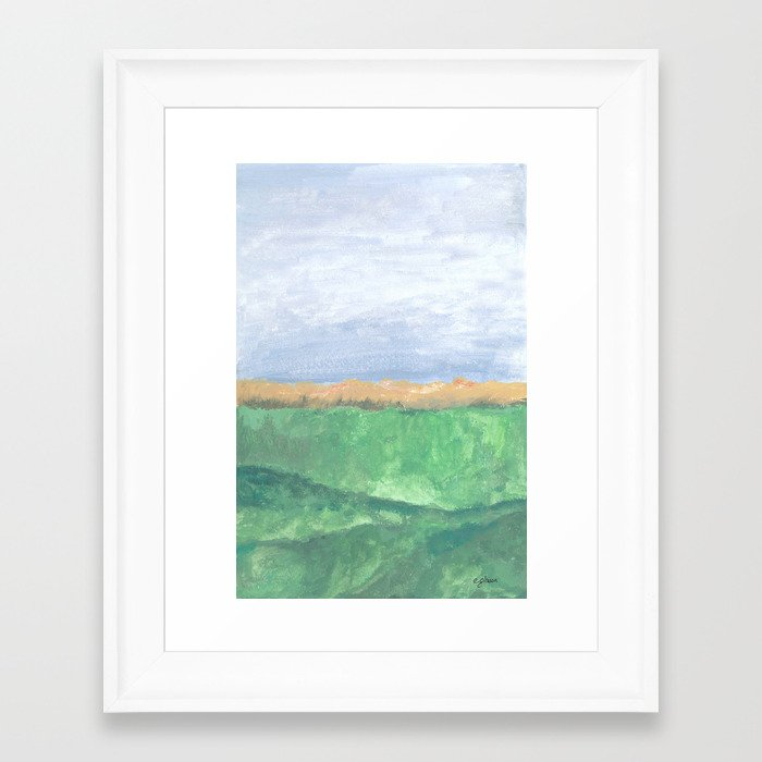 Autumn Ocean Art Print