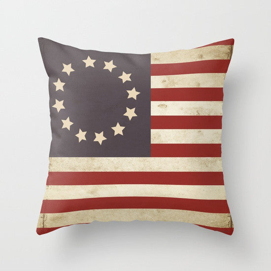 Betsy Ross Flag Pillow - Tint Press