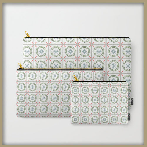 Farmhouse Floral Tile Carry All - Tint Press