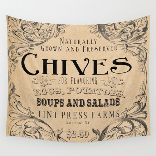 Chive Tapestry - Tint Press