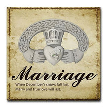 Marriage Tile Enchantment Hanger Included