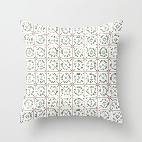 Farmhouse Tile Pillows - Tint Press