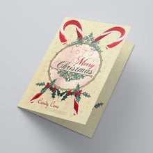 Candy Cane Confection Christmas Cards - Tint Press