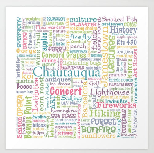 Chautauqua Summer Dream Art Print - Tint Press