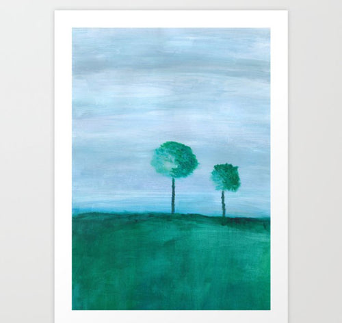 Peaceful Dreams on Hanover Hills Art Print - Tint Press
