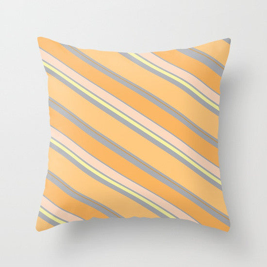 Orange Cream Pillow - Tint Press