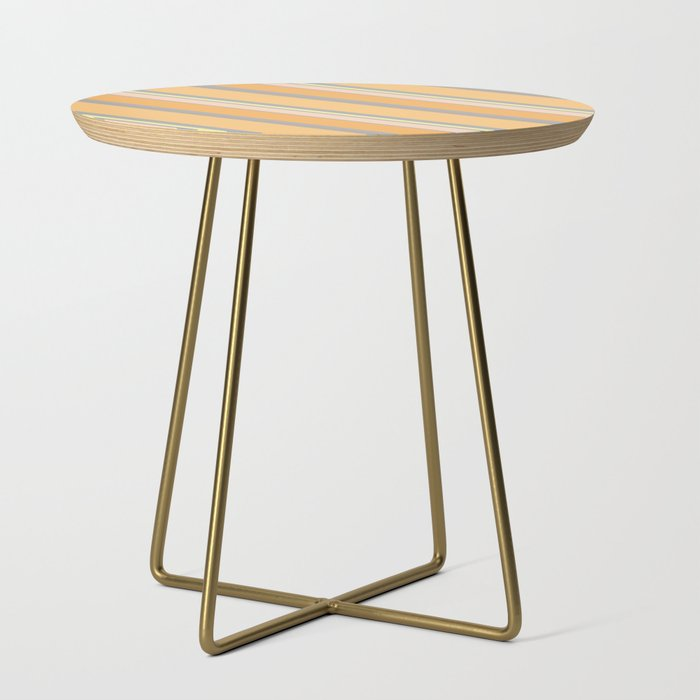 Orange Cream Side Table - Tint Press