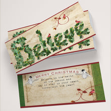 Believe Christmas Cards - Tint Press