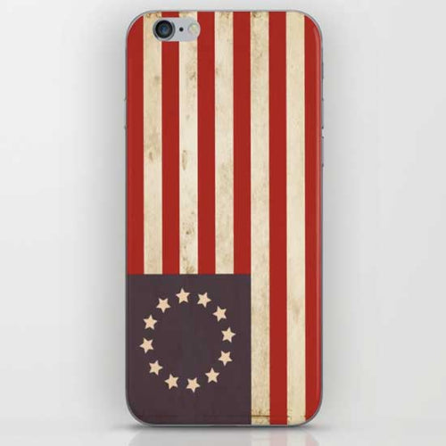 Betsy Ross Flag iPhone Case - Tint Press