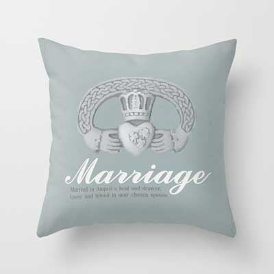 Marriage Collection Pillow - Tint Press