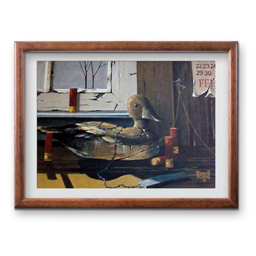 Black Duck Decoy Print - Tint Press