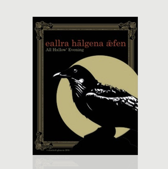 All Hallow Evening Postcard - Tint Press