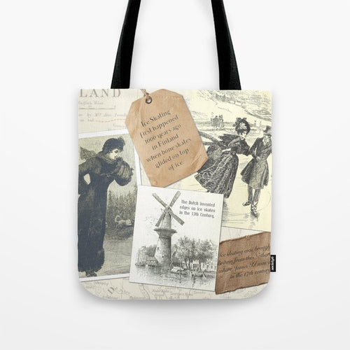 Skating History Tote Bag - Tint Press