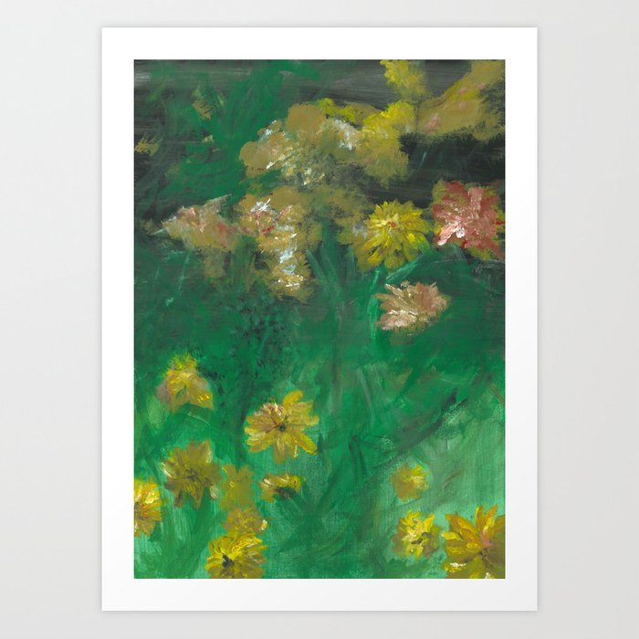 Sun Blossom Art Print - Tint Press