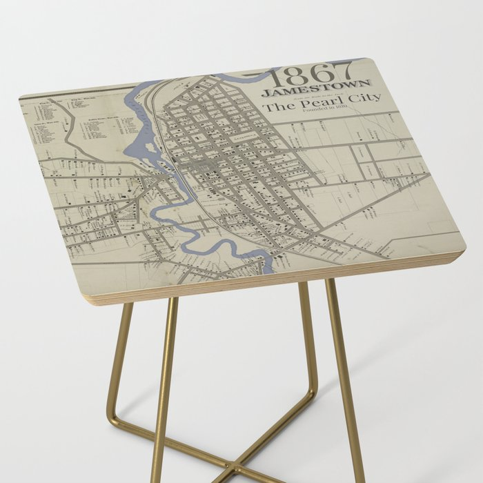 Pearl City Side Table