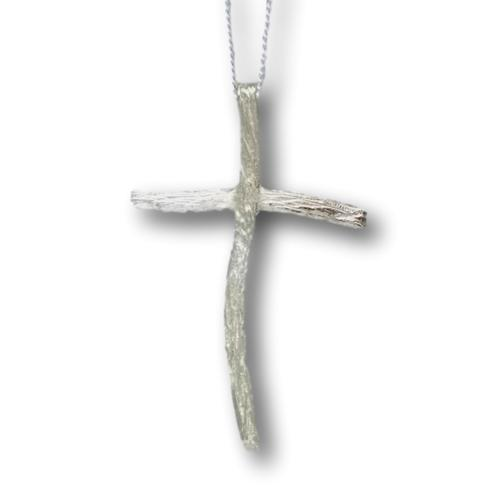 Driftwood Cross - Sterling Silver