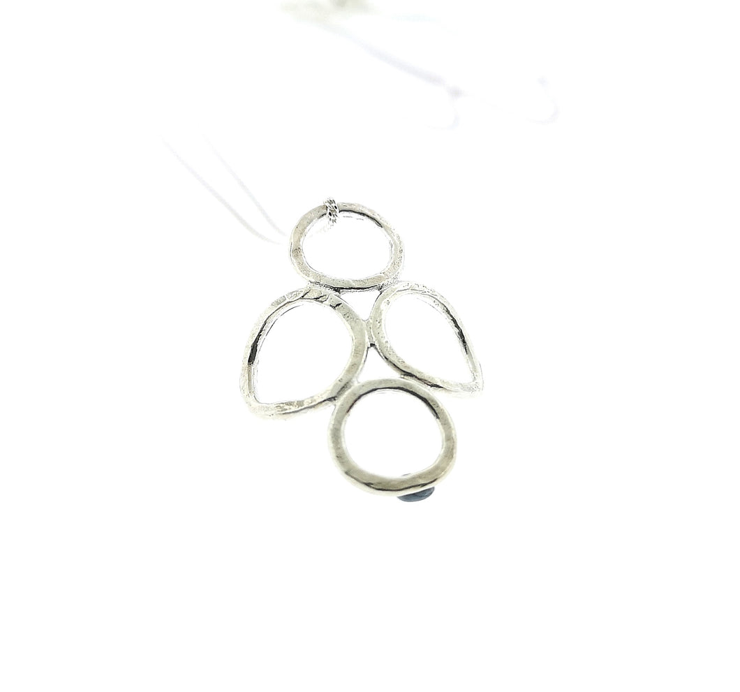 4 Circle Pendant - Sterling Silver