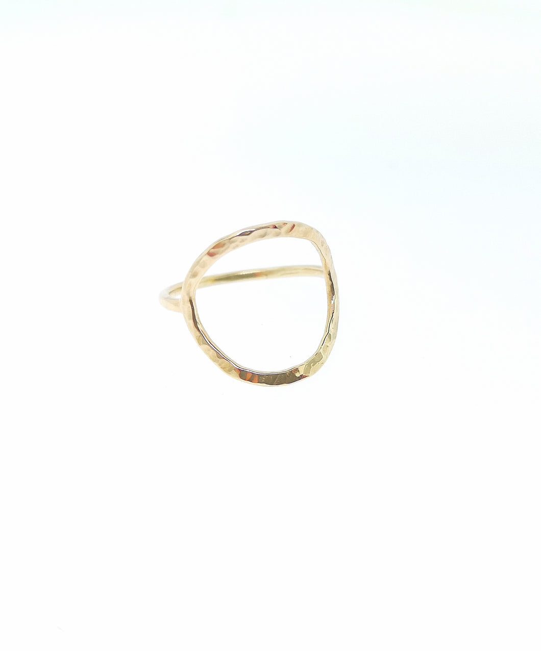 Full Circle Ring -9 Karat Yellow Gold