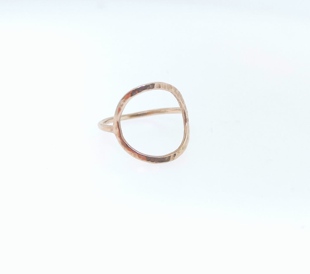 Full Circle Ring - Rose Gold Plated