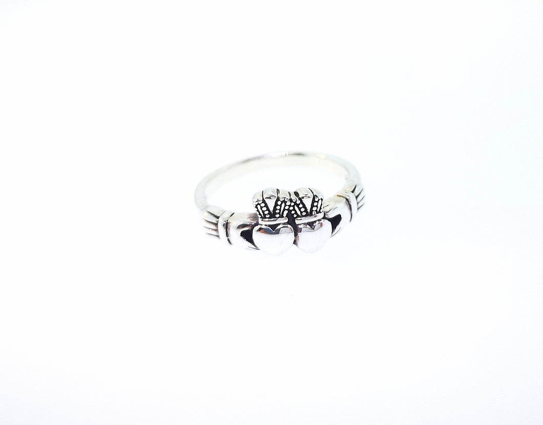 Claddagh Ring - Sterling Silver