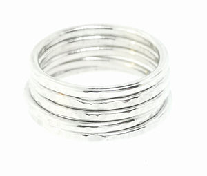 Circle Stacking Ring - Sterling Silver