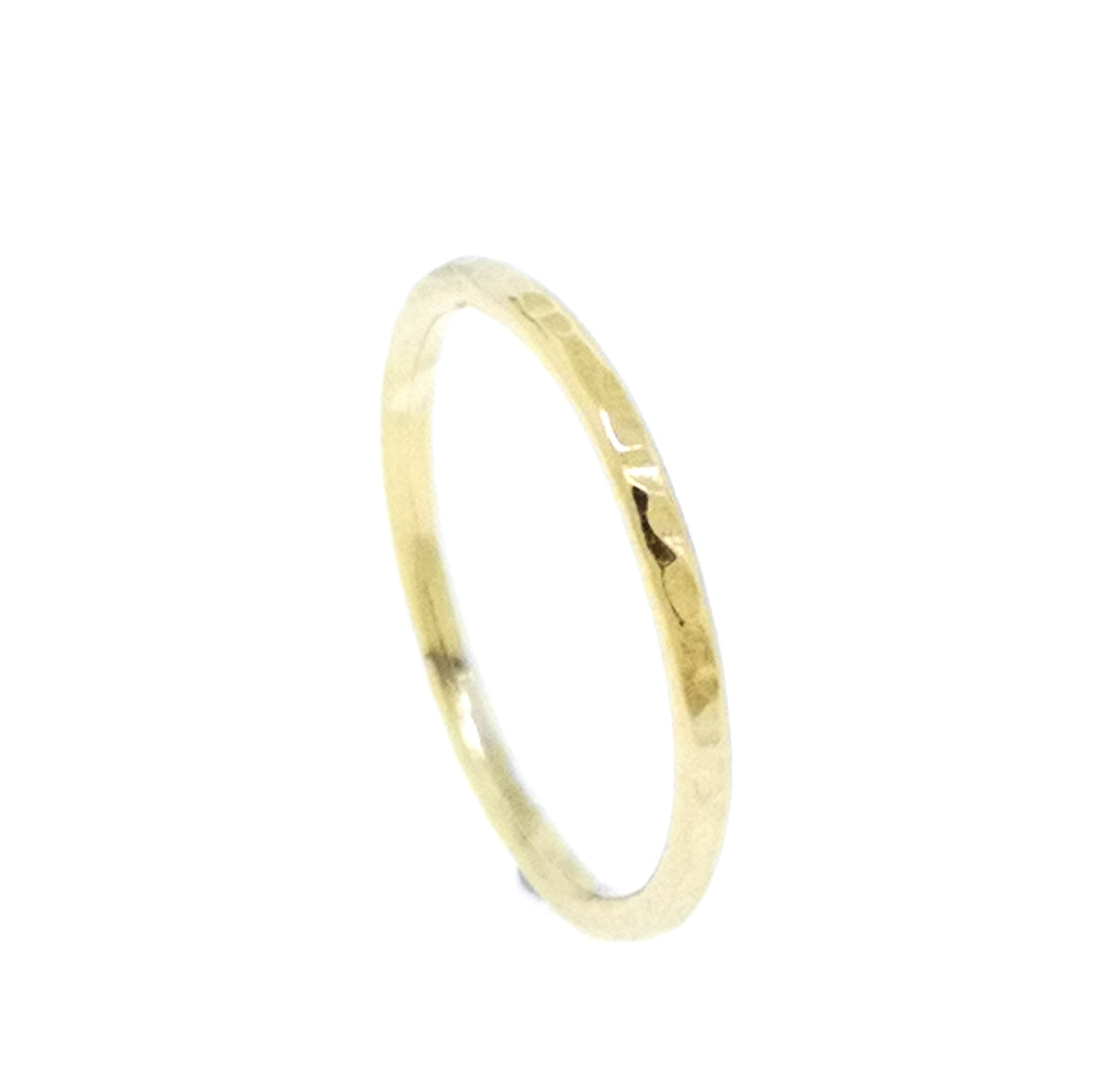 Circle Stacking Ring - Yellow Gold Plated
