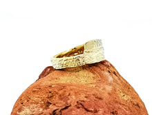 Load image into Gallery viewer, Driftwood Wrap Over Ring - Yellow Gold Plated