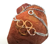 Load image into Gallery viewer, 4 Circle Bracelet - Rose Gold Plated