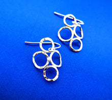 Load image into Gallery viewer, 4 Circle Earrings - Sterling Silver