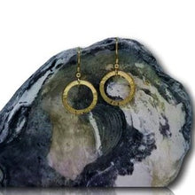 Load image into Gallery viewer, Full Circle Earrings - 9 Karat Yellow Gold