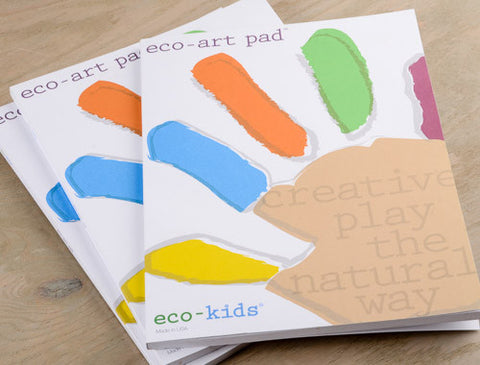 Eco-Art Pad (50 - 9x12 Sheets, FSC Certified)