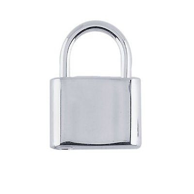 Sterling Silver Square Padlock Clasp  15mmx12mm