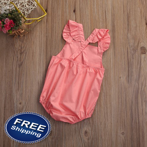 Baby Girl Romper Clothes Summer
