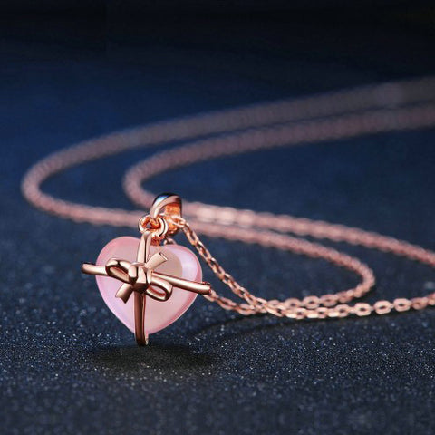 Natural Gemstone Rose Gold