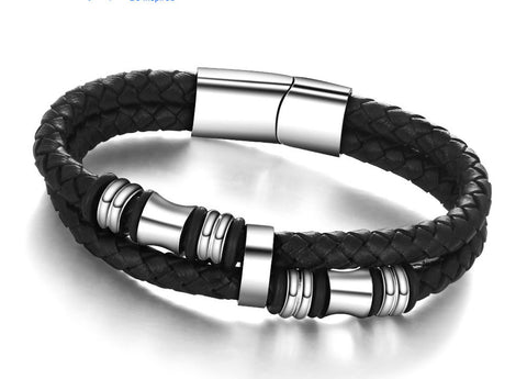 Leather Bracelets & Bangles Man