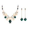 Fine Female Charm Wedding Jewerly Sets