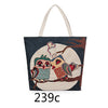 Women Canvas Bag Cute Owl