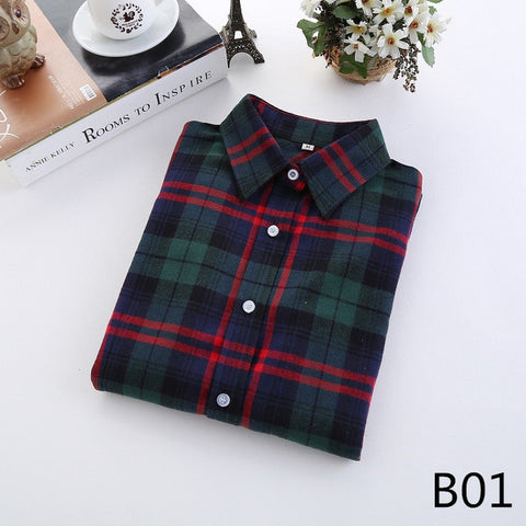 Fashion Shirt Female College Blouses