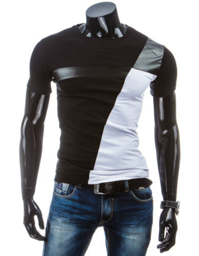Man Casual T shirt Military
