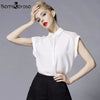 Women Fashion White  Elegant Shirt