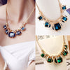 Design Rhinestone Necklace Women